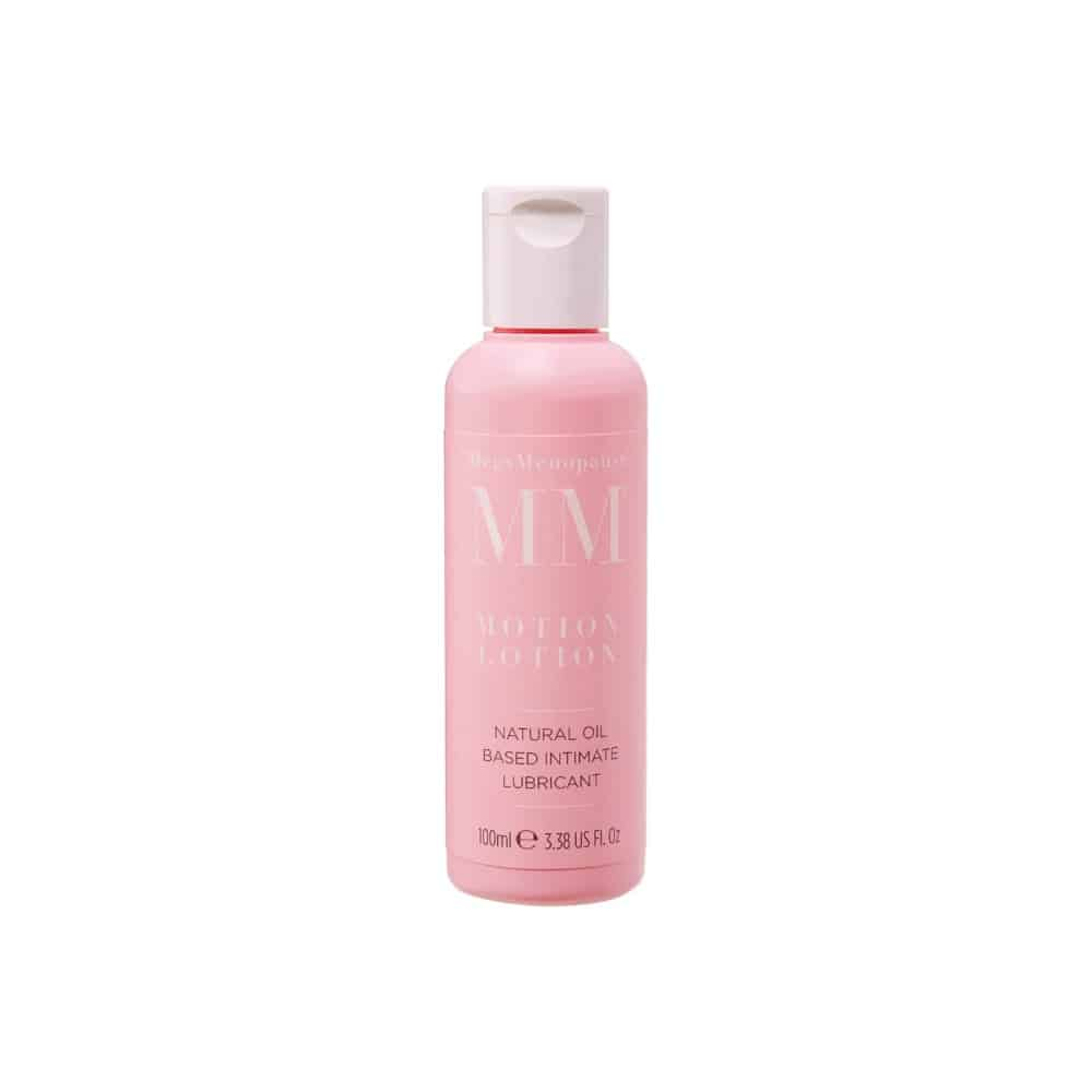 MegsMenopause Motion Lotion Natural Oil Based Lubricant for Menopause